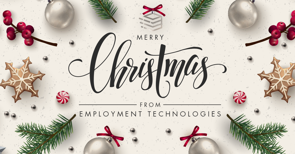 Merry Christmas and Happy New Year from Employment Technologies - Sharing a Story of Hope from a Local Workforce Development Organization